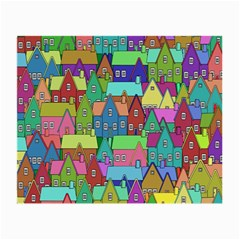 Neighborhood In Color Small Glasses Cloth