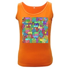 Neighborhood In Color Women s Dark Tank Top