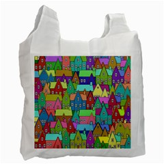Neighborhood In Color Recycle Bag (two Side)