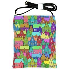 Neighborhood In Color Shoulder Sling Bags