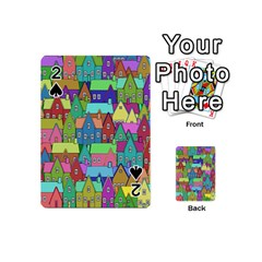 Neighborhood In Color Playing Cards 54 (mini)