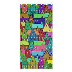 Neighborhood In Color Shower Curtain 36  X 72  (stall)