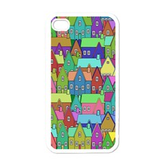 Neighborhood In Color Apple Iphone 4 Case (white)