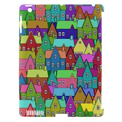Neighborhood In Color Apple iPad 3/4 Hardshell Case (Compatible with Smart Cover)