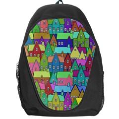 Neighborhood In Color Backpack Bag
