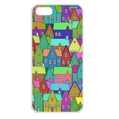 Neighborhood In Color Apple Iphone 5 Seamless Case (white)