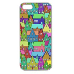 Neighborhood In Color Apple Seamless Iphone 5 Case (clear)