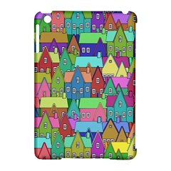 Neighborhood In Color Apple Ipad Mini Hardshell Case (compatible With Smart Cover)