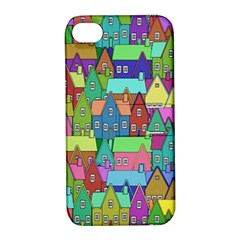 Neighborhood In Color Apple iPhone 4/4S Hardshell Case with Stand