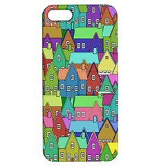 Neighborhood In Color Apple Iphone 5 Hardshell Case With Stand