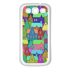 Neighborhood In Color Samsung Galaxy S3 Back Case (White)