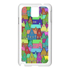 Neighborhood In Color Samsung Galaxy Note 3 N9005 Case (white)