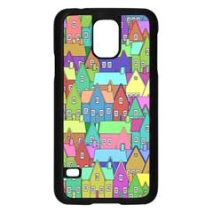 Neighborhood In Color Samsung Galaxy S5 Case (black)