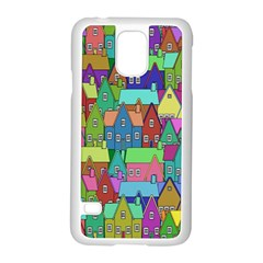 Neighborhood In Color Samsung Galaxy S5 Case (white)