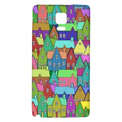 Neighborhood In Color Galaxy Note 4 Back Case