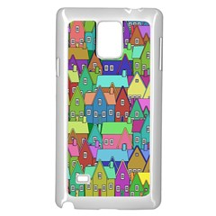Neighborhood In Color Samsung Galaxy Note 4 Case (white)