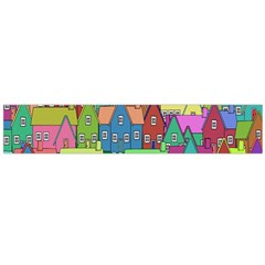 Neighborhood In Color Flano Scarf (large)