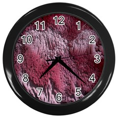 Texture Background Wall Clocks (black)