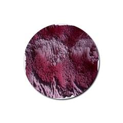Texture Background Rubber Round Coaster (4 Pack)