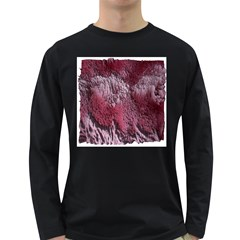 Texture Background Long Sleeve Dark T-Shirts
