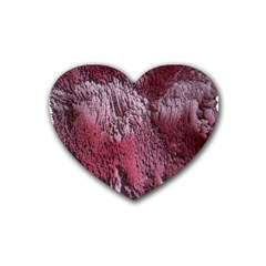 Texture Background Heart Coaster (4 pack)
