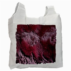 Texture Background Recycle Bag (one Side)