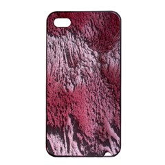 Texture Background Apple iPhone 4/4s Seamless Case (Black)