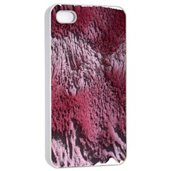 Texture Background Apple iPhone 4/4s Seamless Case (White)