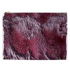 Texture Background Cosmetic Bag (XXL)