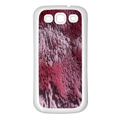 Texture Background Samsung Galaxy S3 Back Case (white)