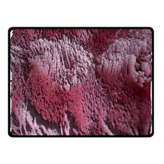 Texture Background Double Sided Fleece Blanket (Small)