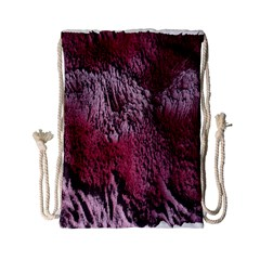 Texture Background Drawstring Bag (Small)