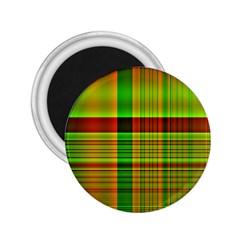 Multicoloured Background Pattern 2.25  Magnets