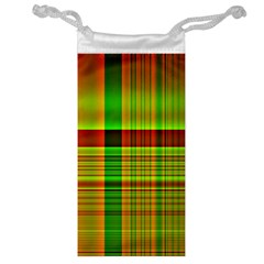 Multicoloured Background Pattern Jewelry Bag