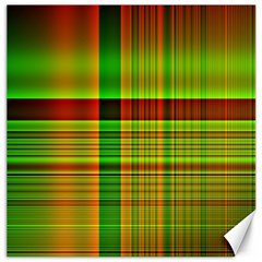 Multicoloured Background Pattern Canvas 12  X 12