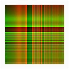 Multicoloured Background Pattern Medium Glasses Cloth (2-Side)