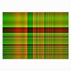 Multicoloured Background Pattern Large Glasses Cloth (2-Side)