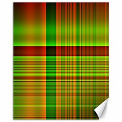 Multicoloured Background Pattern Canvas 11  x 14