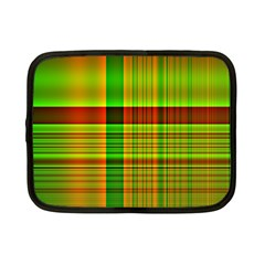 Multicoloured Background Pattern Netbook Case (Small)