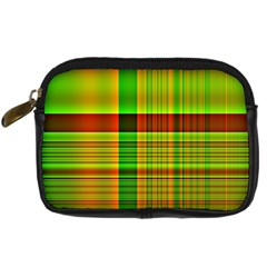 Multicoloured Background Pattern Digital Camera Cases