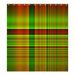 Multicoloured Background Pattern Shower Curtain 66  X 72  (large)