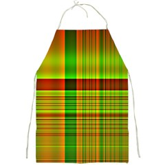 Multicoloured Background Pattern Full Print Aprons
