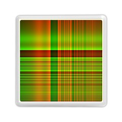 Multicoloured Background Pattern Memory Card Reader (square)