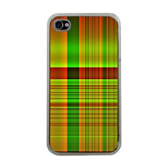 Multicoloured Background Pattern Apple Iphone 4 Case (clear)