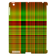Multicoloured Background Pattern Apple iPad 3/4 Hardshell Case (Compatible with Smart Cover)