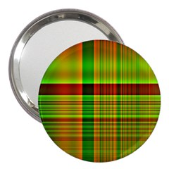 Multicoloured Background Pattern 3  Handbag Mirrors