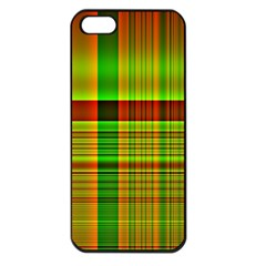 Multicoloured Background Pattern Apple Iphone 5 Seamless Case (black)