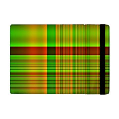 Multicoloured Background Pattern Apple iPad Mini Flip Case
