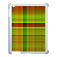 Multicoloured Background Pattern Apple Ipad 3/4 Case (white)