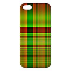 Multicoloured Background Pattern iPhone 5S/ SE Premium Hardshell Case